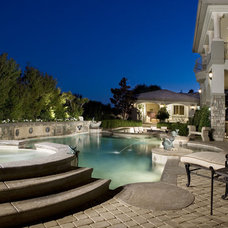 Traditional Pool by Concierge Design & Project Management, LLC