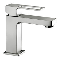 WS Bath Collections - Effe EF 071 Bathroom Faucet - Effe by WS Bath Collections, Single Lever Bathroom Faucet, in Polished Chrome