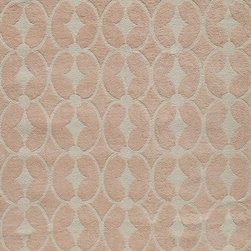 Lil Mo Classic LMI-6 Pink Rug - 8'x10' - What happens when you blend a bit of nostalgia with a bit of today? You get a collection unlike any other��_'Lil Mo Classic. Trains, whimsical bugs and a damask with a twist make this collection a must have. Hand-hooked of pure cotton, 'Lil Mo Classic features a cut-loop construction which gives the motifs a high/low effect and added texture. Just too cute!