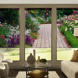 Custom Printed Roller Shades - Always the perfect day reflected in your roller shades!