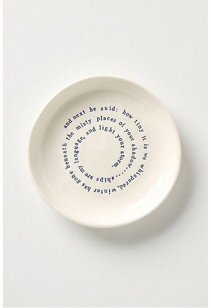 Modern Plates by Anthropologie