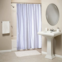Other Brands - Greenland Home Fashions Ruffles 72 x 72 in. Shower Curtain - GL-1109BSHW - Shop for Shower Curtains from Hayneedle.com! About Greenland Home FashionsFor the past 16 years Greenland Home Fashions has been perfecting its own approach to textile fashions. Through constant developments and updates - in traditional country and forward-looking styles the company has become a leading supplier and designer of decorative bedding to retailers nationwide. If you're looking for high quality bedding that not only looks great but is crafted to last consider Greenland.
