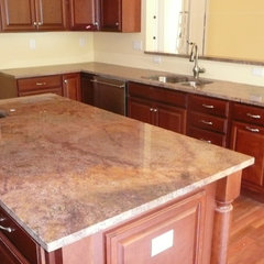 traditional kitchen countertops by Jeff Wittwer  Helmart Company, Inc.