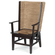 Eclectic Living Room Chairs by Wicker Home & Patio Furniture