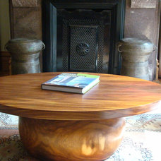 eclectic coffee tables by Ilene April