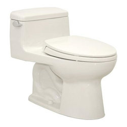 TOTO - TOTO MS864114E#12 Eco Supreme Elongated One Piece Toilet with Soft Close Seat, S - TOTO MS864114E#12 Eco Supreme Elongated One Piece Toilet with Soft Close Seat, Sedona Beige When it comes to Toto, being just the newest and most advanced product has never been nor needed to be the primary focus. Toto's ideas start with the people, and discovering what they need and want to help them in their daily lives. The days of things being pretty just for pretty's sake are over. When it comes to Toto you will get it all. A beautiful design, with high quality parts, inside and out, that will last longer than you ever expected. Toto is the worldwide leader in plumbing, and although they are known for their Toilets and unique washlets, Toto carries everything from sinks and faucets, to bathroom accessories and urinals with flushometers. So whether it be a replacement toilet seat, a new bath tub or a whole new, higher efficiency money saving toilet, Toto has what you need, at a reaso
