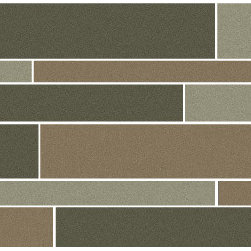 Eleganza - Eleganza - Modern Deco Stripe 12x18 - MOD1218 - Contemporary Collection