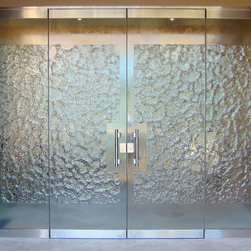 Glass Stone Glass Entry System : Doors and Sidelights - Glass Stone Glass Entry System : Doors and Sidelights