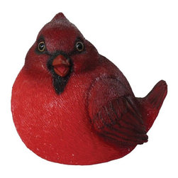 Michael Car Designs - Michael Carr Fat Cardinal Resin Statue Multicolor - MCD80066 - Shop for Statues and Sculptures from Hayneedle.com! Bring the charm of the chubby smiling Michael Carr Fat Cardinal Resin Statue to your home or garden. Part of the Garden Critters collection from Michael Carr Designs this cute and lifelike creature adds personality and charm to any yard or garden. This handsome critter is hand-made from durable high-quality polyresin material and then hand-painted for quality. The durable polyresin has a U.V. coating that resists cracking or chipping from the sun.About Michael Carr DesignsDesigning an exclusive line of high-end garden pottery fountains statuaries and bird baths Michael Carr Designs brings something new and innovative to your outdoor living space. There's something for everyone with their fashionable colors soft raining finishes and multiple styles. Each piece is hand-made beginning with a craftsman molding the clay and ending with a rustic Old World kiln. This means each piece is unique a true one-of-a-kind. Michael Carr Designs works in a variety of materials like Vietnamese glazed pottery Malaysian pottery Italian terracotta pottery and resin just to name a few.