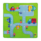 HABA Traffic Play Area Rug - Super cute play rug - can be used as an area rug or play rug. Washable at 86F.