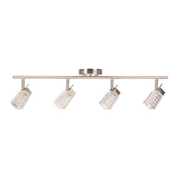 Globe Electric - Globe Electric 58525 Lux 4 Light Track Kit - Features: