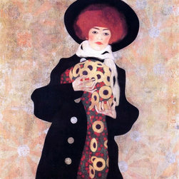 """Egon Schiele Woman with Black Hat - 16"""" x 16"""" Premium Archival Print - 16"""" x 16"""" Egon Schiele Woman with Black Hat premium archival print reproduced to meet museum quality standards. Our museum quality archival prints are produced using high-precision print technology for a more accurate reproduction printed on high quality, heavyweight matte presentation paper with fade-resistant, archival inks. Our progressive business model allows us to offer works of art to you at the best wholesale pricing, significantly less than art gallery prices, affordable to all. This line of artwork is produced with extra white border space (if you choose to have it framed, for your framer to work with to frame properly or utilize a larger mat and/or frame).  We present a comprehensive collection of exceptional art reproductions byEgon Schiele."""
