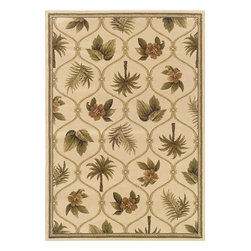 Sphinx - Sphinx Hudson 1369b Rug - 3 ft 10 in x 5 ft 5 in - Oriental Weavers Sphinx Hudson 1369b Area Rug . Affordable elegance at its best, Hudson pairs sophisticated, traditional to casual designs with modern colorways, including a true red and a pure ivory, as well as organic hues of green, blue, and terra cotta. Machine woven of heat-set polypropylene, Hudson is rich in style and value.Construction: Machine Made of PolypropylenePile Height: 1/8 in to 1/4 inColors may differ slightly from Website.