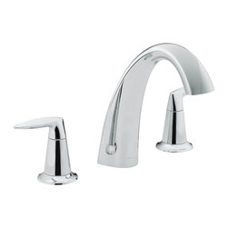 KOHLER - KOHLER K-T45115-4-CP Alteo Bath Faucet Trim, Valve Not Included - KOHLER K-T45115-4-CP Alteo bath faucet trim, valve not included in Polished Chrome
