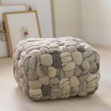 Eclectic Footstools And Ottomans by VivaTerra