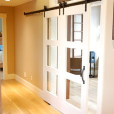 Contemporary Interior Doors by Elevate Design+Projects