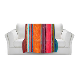 DiaNoche Designs - Throw Blanket Fleece - Feel Good - Original Artwork printed to an ultra soft fleece Blanket for a unique look and feel of your living room couch or bedroom space.  DiaNoche Designs uses images from artists all over the world to create Illuminated art, Canvas Art, Sheets, Pillows, Duvets, Blankets and many other items that you can print to.  Every purchase supports an artist!