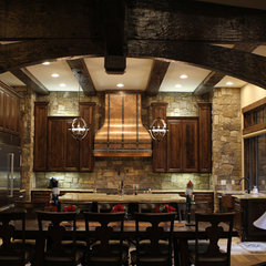 traditional kitchen hoods and vents by Art of Rain