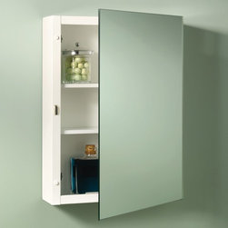 Lighthouse Distribution Corp - Broan-Nutone Topsider 16W x 26H in. Surface Mount Medicine Cabinet Multicolor - - Shop for Bathroom Cabinets from Hayneedle.com! The Broan-Nutone Topsider Surface Mount Medicine Cabinet - 16W x 26H in. gives you that great clean look in a surface-mount package. The reversible hinges mean this model could open either way making it perfect for both right- and left-handers. Its steel body and shelves speak to its quality. The Topsider is proof that surface mounts can look great too.About Broan-NuToneBroan-NuTone has been leading the industry since 1932 in producing innovative ventilation products and built-in convenience products all backed by superior customer service. Today they're headquartered in Hartford Wisconsin employing more than 3200 people in eight countries. They've become North America's largest producer of medicine cabinets ironing centers door chimes and they're the industry leader for range hoods bath and ventilation fans and heater/fan/light combination units. They are proud that more than 80 percent of their products sold in the United States are designed and manufactured in the U.S. with U.S. and imported parts. Broan-NuTone is dedicated to providing revolutionary products to improve the indoor environment of your home in ways that also help preserve the outdoor environment.