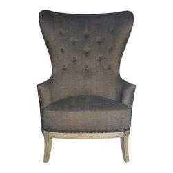 NOIR - NOIR Furniture - Aaron Chair in Dusk - Aaron Collection Chair