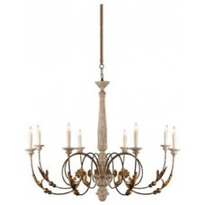 Eclectic Chandeliers by McEntire Design Group