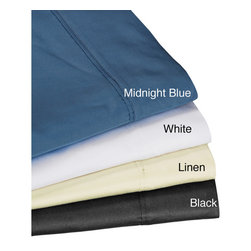 Tribeca Living - Egyptian Cotton Sateen Deep Pocket 300 Thread Count Sheet Set - Upgrade your bedding with this Egyptian cotton sheet set. This set includes a flat sheet,fitted sheet,and two pillowcases. It's 300-thread count sateen weave pattern is sure to caress your body comfortably and help you get hours of restful sleep.