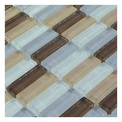 Home Elements - Glass Mosaic Tile, 1 Square Foot - Product Description:
