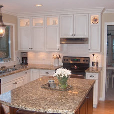 Kitchen Cabinets by Style Line Custom Hardwood Doors & Wood Products