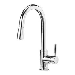 Blanco - Blancho Sonoma Pull Out Kitchen Faucet, Polished Chrome - AB1953 Compliant