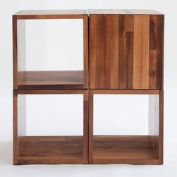 Storage - http://www.woodindesign.com/shop/cliff_spencer/wine_oak_cubes
