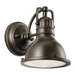 "Kichler - Kichler 49064OZ Hatteras Bay Collection 1 Light 8"" Outdoor Wall Light - Kichler 49064 Hatteras Bay Outdoor Wall Light"