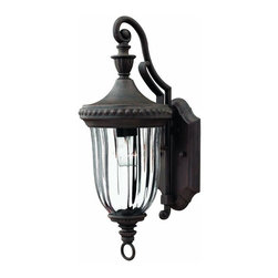Hinkley - Hinkley Oxford One Light Midnight Bronze Wall Lantern - 1240MN - This One Light Wall Lantern is part of the Oxford Collection and has a Midnight Bronze Finish. It is Outdoor Capable, and Wet Rated.