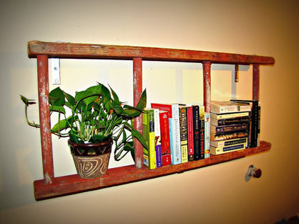 Eclectic Bookcases by Etsy