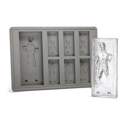 Star Wars Han Solo in Carbonite Ice Cube Tray - Anyone who knows anyone who appreciates Star Wars (I guess, technically, The Empire Strikes Back) must buy this for that person immediately. Everyone uses ice at some point or other, so this really is the perfect gift. And by the way, these molds can also be used for chocolate and other candies, too.