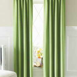 Eclipse Kids' Twill Thermaweave Black-out - These curtains provide a great touch of color, with a major bonus: they are black-out shades! I plan to use both the lime and the indigo colors.