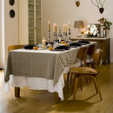Contemporary Tablecloths by Rough Linen