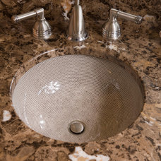 Eclectic Bathroom Sinks by Designing Solutions