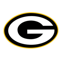 Brewster Home Fashions - NFL Green Bay Packers Teammate Logo Wall Sticker Decal - FEATURES: