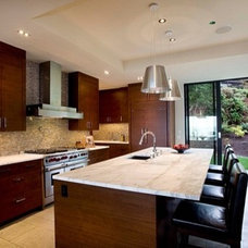 Contemporary Kitchen Cabinets by Rainier Woodworking Company