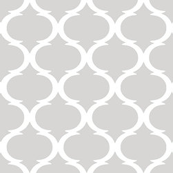 """Indigo Root - Tilez Peel & Stick Wallpaper Squares - Classy Clean, Cool Grey, 12""""x12"""" 3-Pack - 12""""x12"""" Peel and Stick Tilez squares are made of a polyester fabric material and are environmentally safe. Bio-degradable over time. Since Tilez are non-toxic, they are great for infant and kids rooms! Transform small spaces. Refurbish old furniture. Create a non-slip dinner table runner. Tilez allows you to easily create stripes on a wall with in seconds! This material does not rip or wrinkle and is not required to be removed over time. Results may vary on stucco and other surfaces that are not smooth & clean."""