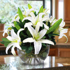 Contemporary Accessories And Decor by Bagoy's Florist & Home