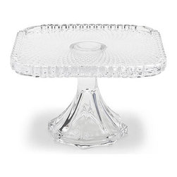Home Decorators Collection - Martin Pedestal - Our Martin Pedestal is inspired by Depression-era glass. Provide the perfect presentation at your next gathering and let these pedestals hold everything from sweets to hors d'oeuvres. Glass construction. Available in square or round.