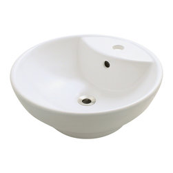 MR Direct - MR Direct v270 Porcelain Sink, Bisque, Chrome, *No Drain* - Our extensive line of porcelain sinks will compliment any decor from the traditional to the unique. Our porcelain sinks are true Vitreous China  with a triple laid glaze to create the strongest sink you will find. Our porcelain sinks are extremely low maintenance. Our porcelain sinks are covered by a limited lifetime warranty. Each comes with a cardboard cutout template and mounting hardware.