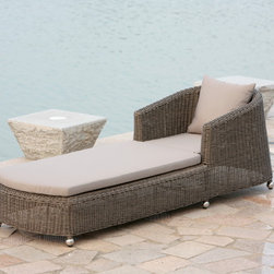 Outdoor Lounge Furniture - Custom Stace Single Lounger by north 88 outdoor.