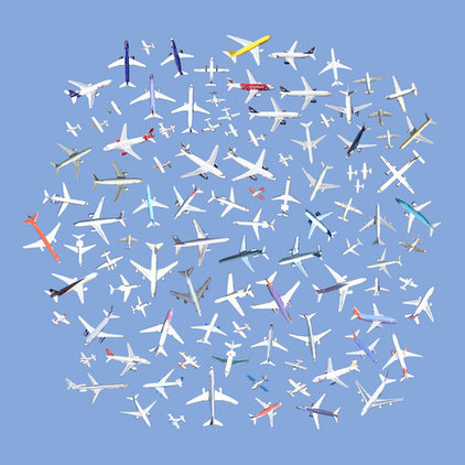 Contemporary Artwork 104 Airplanes by Jenny Odell