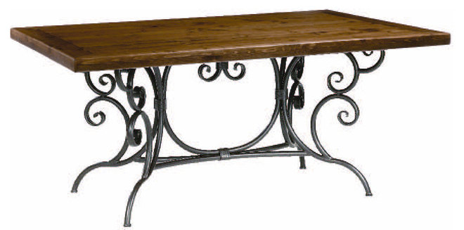 Traditional Dining Tables by stoneiron.com