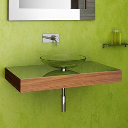 Componendo - Componendo | Novanta Single Vanity - Made in Italy by Componendo.The fluid and striking design of the Novanta Single Vanity brings a mixture of luxurious yet organic charm to any modern bathroom. The stainless steel countertop finish catches natural light for an illuminating effect that will brighten any bath space. Pair with the glass Chama vessel sink or any of the other premium sink options to instantly upgrade your space. Select your ideal wood finish and sink type for the perfect finishing touch to your bath space. Product Features: