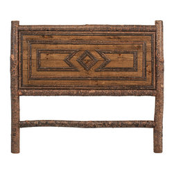 Rustic Beds & Headboards by La Lune Collection - Rustic Headboard #4234 (Queen) by La Lune Collection