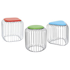 Contemporary Outdoor Stools And Benches by Home Infatuation