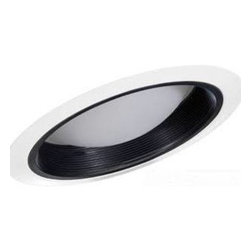 """Juno Lighting - Juno 6330 6"""" Standard Slope Regressed Frosted Dome Lens with Baffle Trim, 6330b - 6"""" Standard Slope Regressed Frosted Dome Lens with Baffle Trim for use with select Juno housings."""